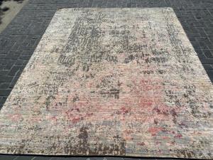 63427 Modern Wool and Bamboo Silk 8x10