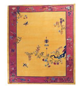 34902 Chinese Art Deco 9'x11'