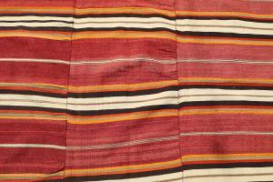 Striped Old Persian Kilim - 5'1