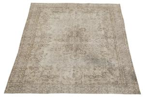 38308 Vintage Turkish rug 11'3