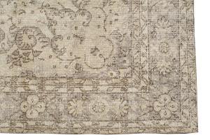 38308 Vintage Turkish rug 11'3