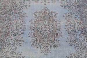 Antique Distressed Turkish  6'6