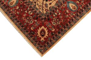 Multi color traditional Rug 8'2