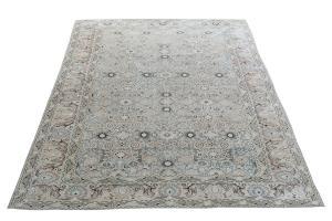 Antique Nanaj Persian carpet 13'9