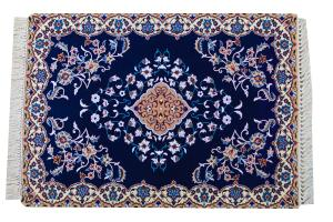 Antique Collectable Fine Isfahan- 2'5x3'8