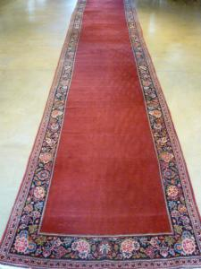 Antique Kashan 3.4x17.1