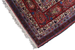 Antique Persian Senneh Baft Tabriz 10.7x17