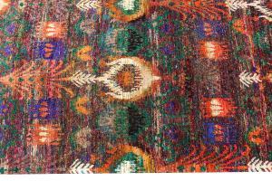 Multi Color modern rug 7'9