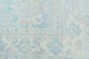 Antique Oushak design rug 9'11
