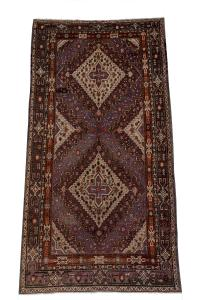 54529 Vintage Khotan gallery rug 6'6