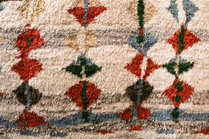 Abstract Moroccan Shag 7.10x9.9