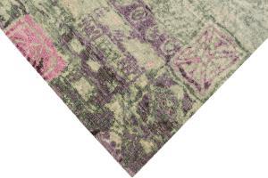 55693 Modern Silk and Wool Rug 8x10