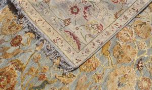 56821 Handmade Wool and Silk 8'2