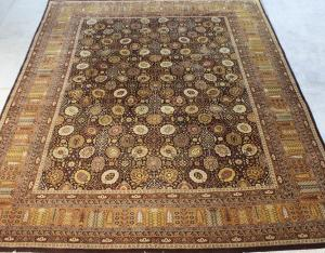 Fine Mahal design hand made wool rug 10x14
