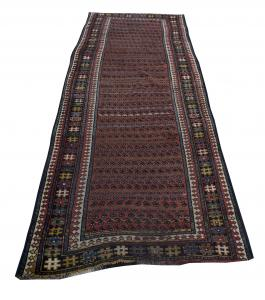 57297 Antique Kurdish 3'8