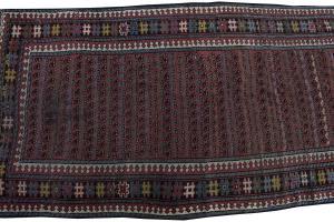 57297 Antique Kurdish 3'8