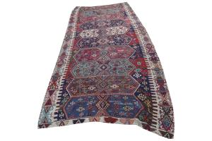 Antique Turkish Kilim Size 5'5