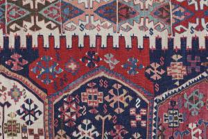 Antique Turkish Kilim Size 5'5