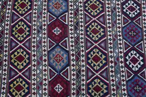 Antique Caucasian Kilim 4.8x9.3