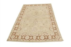 antique Oushak design rug 13'5