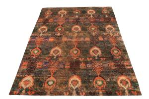 Silk Multi Color Rug 9'9