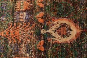 Silk Multi Color Rug 9'9