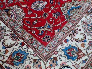 C58499 Old Persian Tabriz carpet 16'5