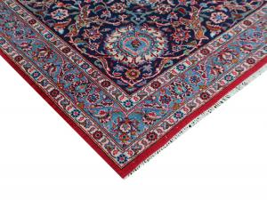 C58521 Old Persian Kashan carpet  13'7