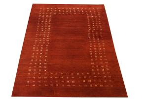 Gabbeh design wool rug 9'10