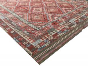 Afgan kilim Oversize Kilim 9'8
