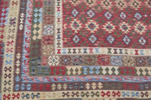 Flatweave multi color kilim 10'x16'6