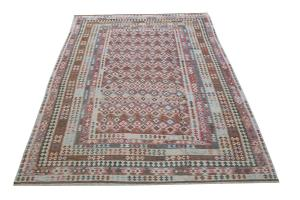 Flatweave multi color Kilim 9'8