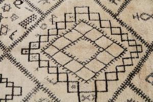 Beige warm Morocco berber 5'8