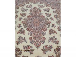 Wool old Karastan carpet 11'4