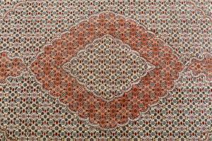 Fine Tabriz Wool and Silk 7'5
