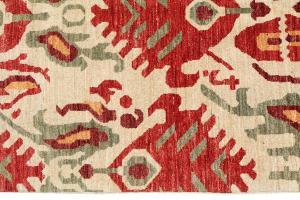 Multi color rug 6'10