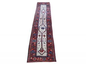 Antique Persian Shahsavan Runner 3'3