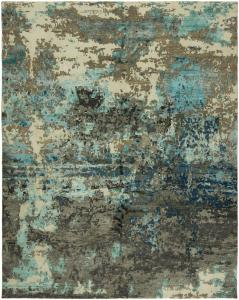 Cosmic Hand Knotted Rug