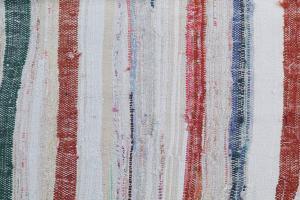 Antique Turkish Handmade Flatweave Rug Size 9'10