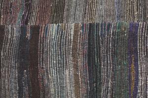 Vintage Turkish Handmade Flatweave 8'10