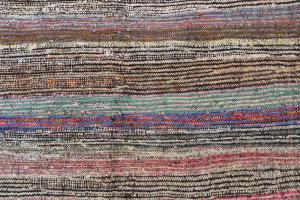 Antique Turkish Handmade Flatweave Rug Size 10'x8'10