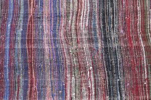 Antique Turkish Handmade Flatweave Rug Size 9'7