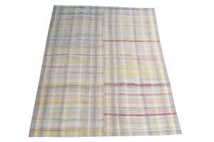 Antique Turkish Handmade Flatweave Rug Size 8'x5'9
