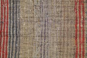 Antique Turkish Handmade Flatweave Rug Size 8'2
