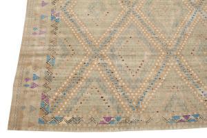 Handmade Flatweave Kilim 10'4