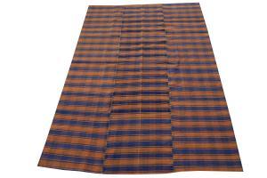 Turkish Modern Handmade Flatweave 5'1
