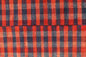 Modern Red Black Turkish Handmade Flatweave 9'9