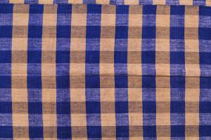 Modern Blue Orange Turkish Handmade Flatweave 9'7