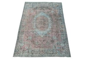 60905 Vintage Turkish Kaiseri rug 8'8
