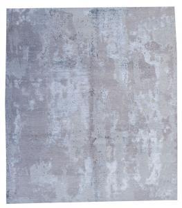 Modern Bamboo Silk Hand-knotted 8'x10'
